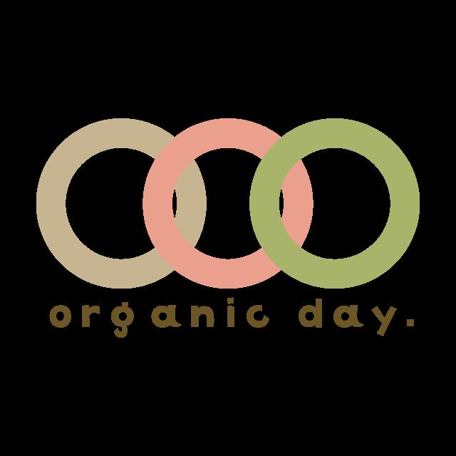 有機農業の日ロゴ(英語・正方形)